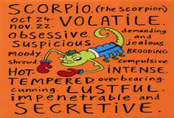 Horoscope of Scorpio