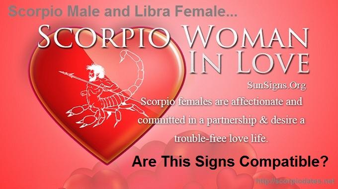 Scorpio Male and Libra Female: Are these Signs Compatible!