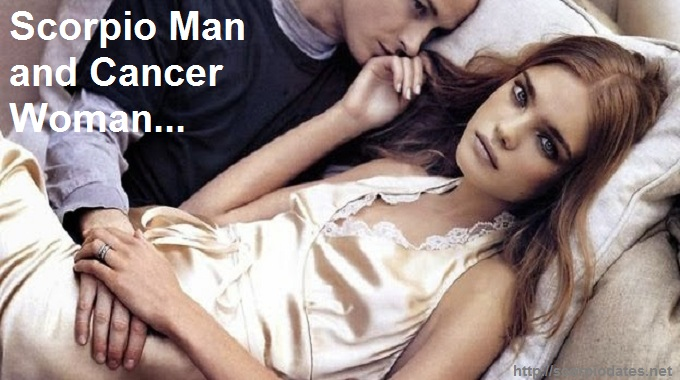 Scorpio Man and Cancer Woman