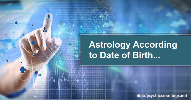 Astrology According to Date of Birth