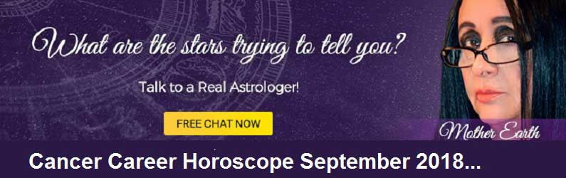 Cancer Career Horoscope October 2018