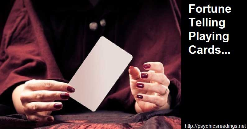Fortune Telling Playing Cards