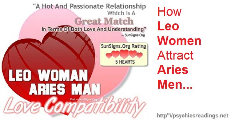 How Leo Women Attract Aries Men