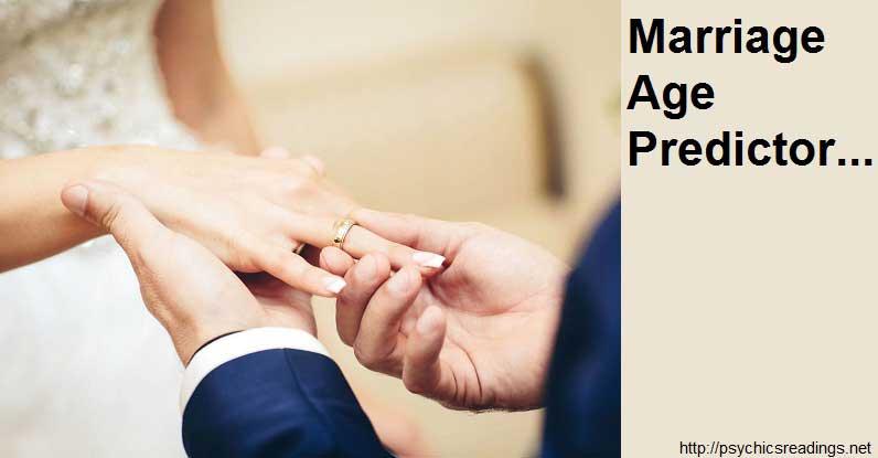 Marriage Age Prediction!