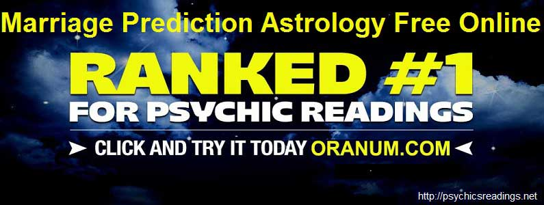 Marriage Prediction Astrology Free Online!