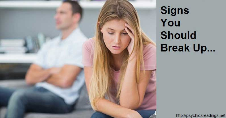 Signs You Should Break Up