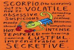 Horoscope of Scorpio