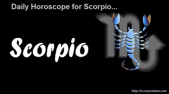 Daily Horoscope for Scorpio!