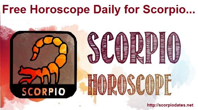 Free Horoscope Daily for Scorpio