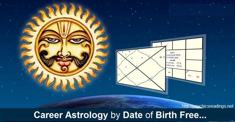 Career Astrology by Date of Birth Free