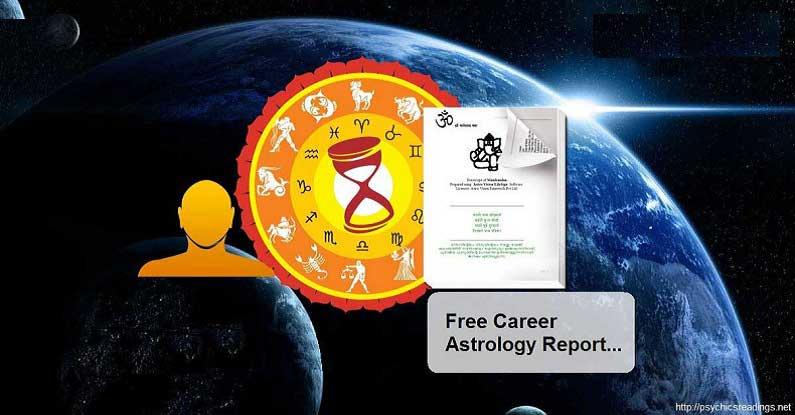 Free Career Astrology Report