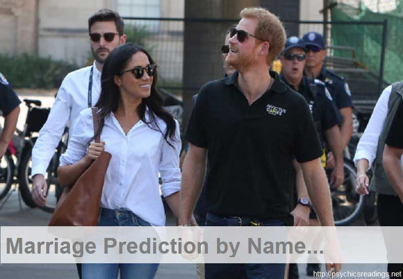 arriage Prediction by Name – Final Words!