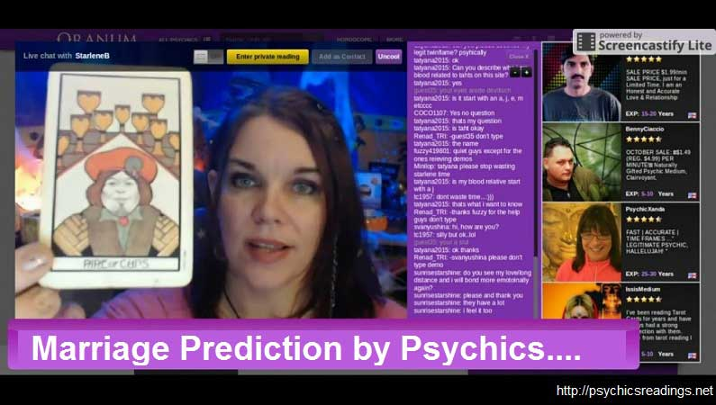 Marriage Prediction by Psychics!