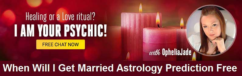 When will I Get Married Astrology Prediction Free!