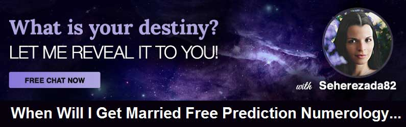 When will I Get Married Free Prediction by Numerology